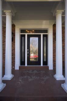 front door vertical
